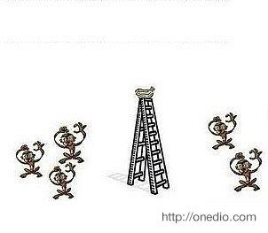 Bunun üzerine doğal olarak, muzlar ne kadar cezbedici olsa da hiçbir maymun merdivene tırmanmaya cesaret edemiyor.