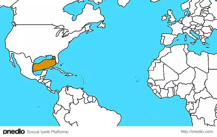 Meksika ve Amerika'nın arası