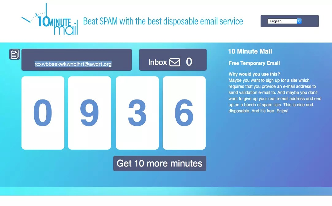 How To Create a Disposable Email Account - CCM