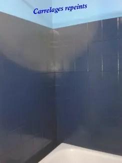 peindre le carrelage de ma douche