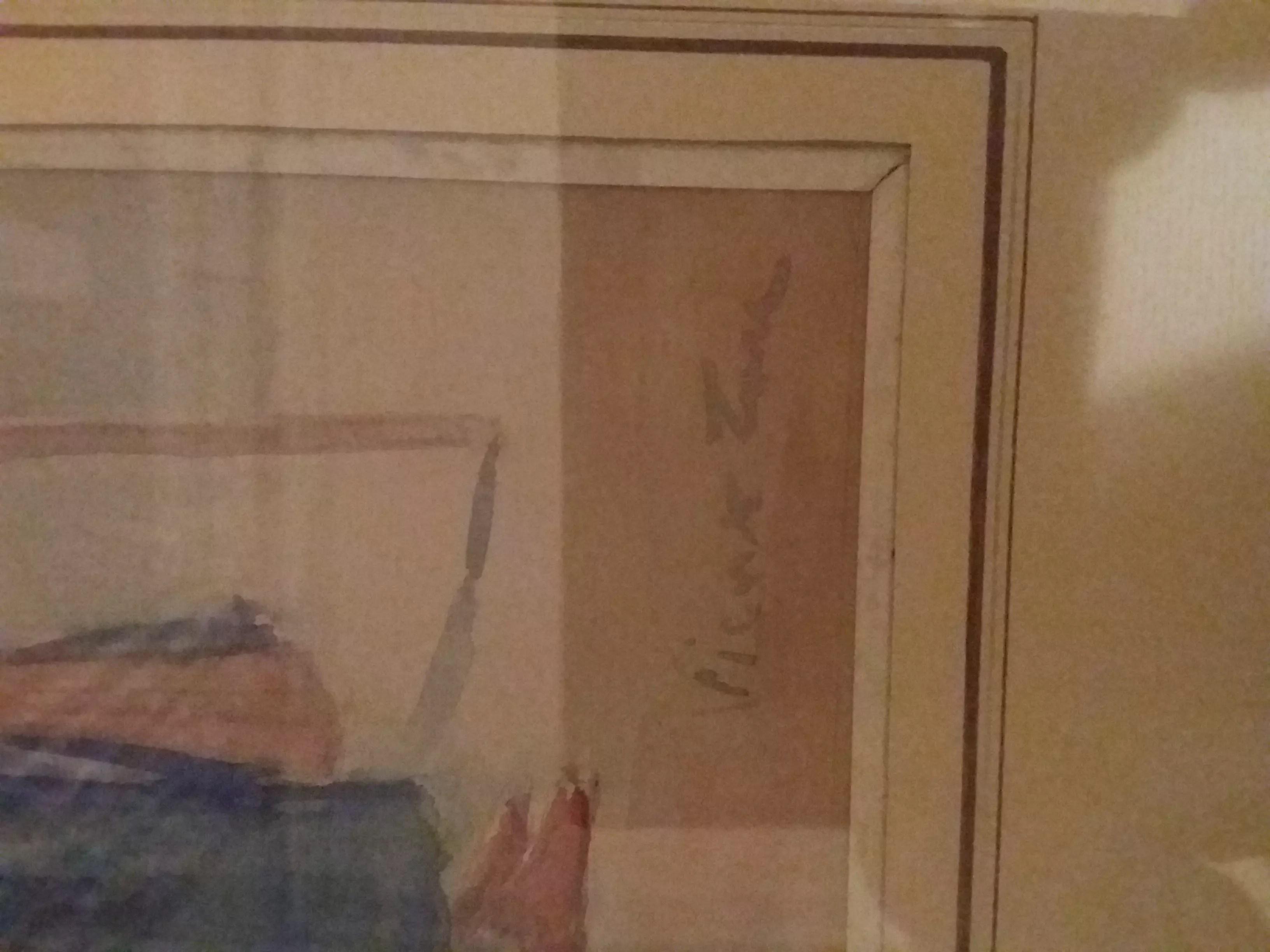 Identification dun peintre dapres tableau et signature