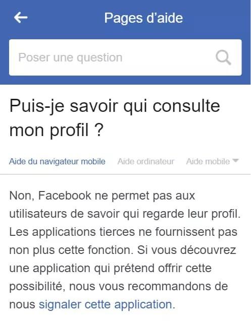 Comment Savoir Qui Visite Mon Profil Facebook : comment, savoir, visite, profil, facebook, Savoir, Consulte, Fiche, Facebook, [Résolu], Comment, Marche