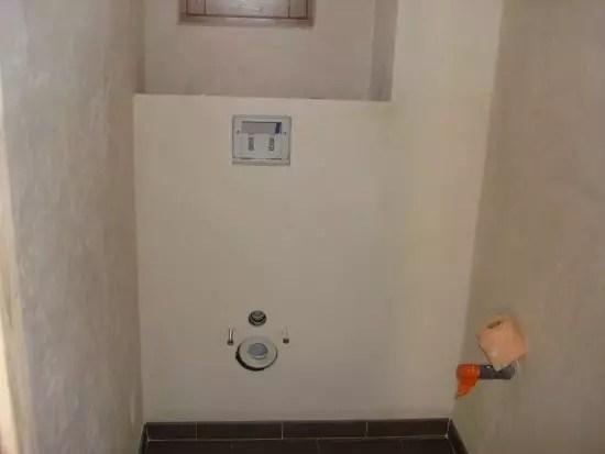Comment faire un habillage pour wc suspendu Rsolu