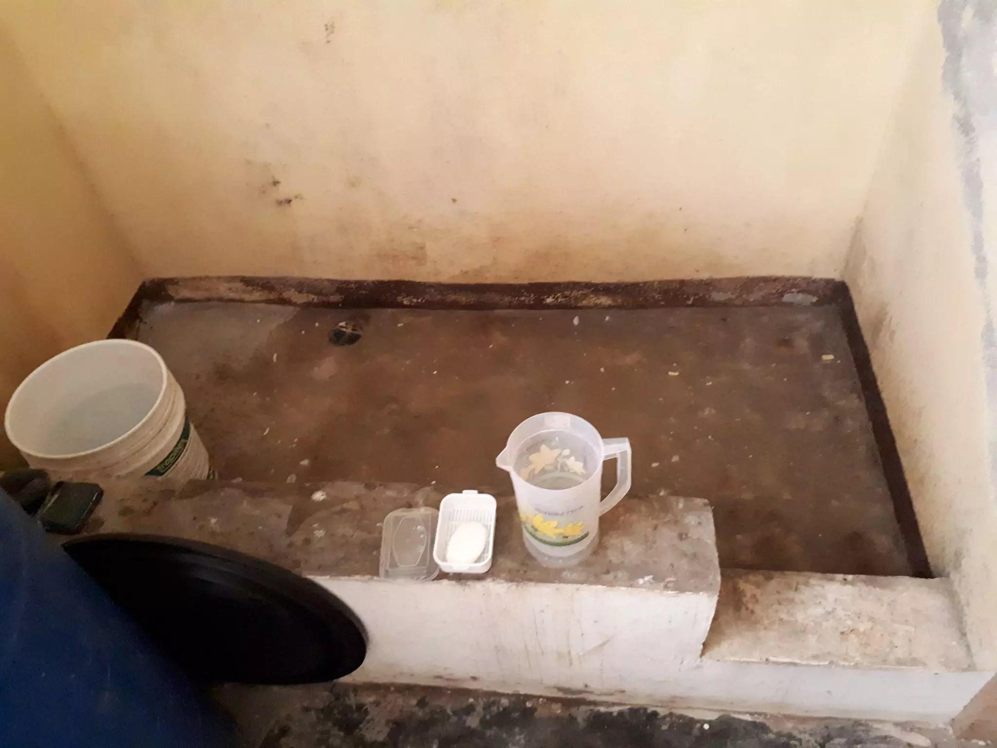 faire un receveur de douche en beton