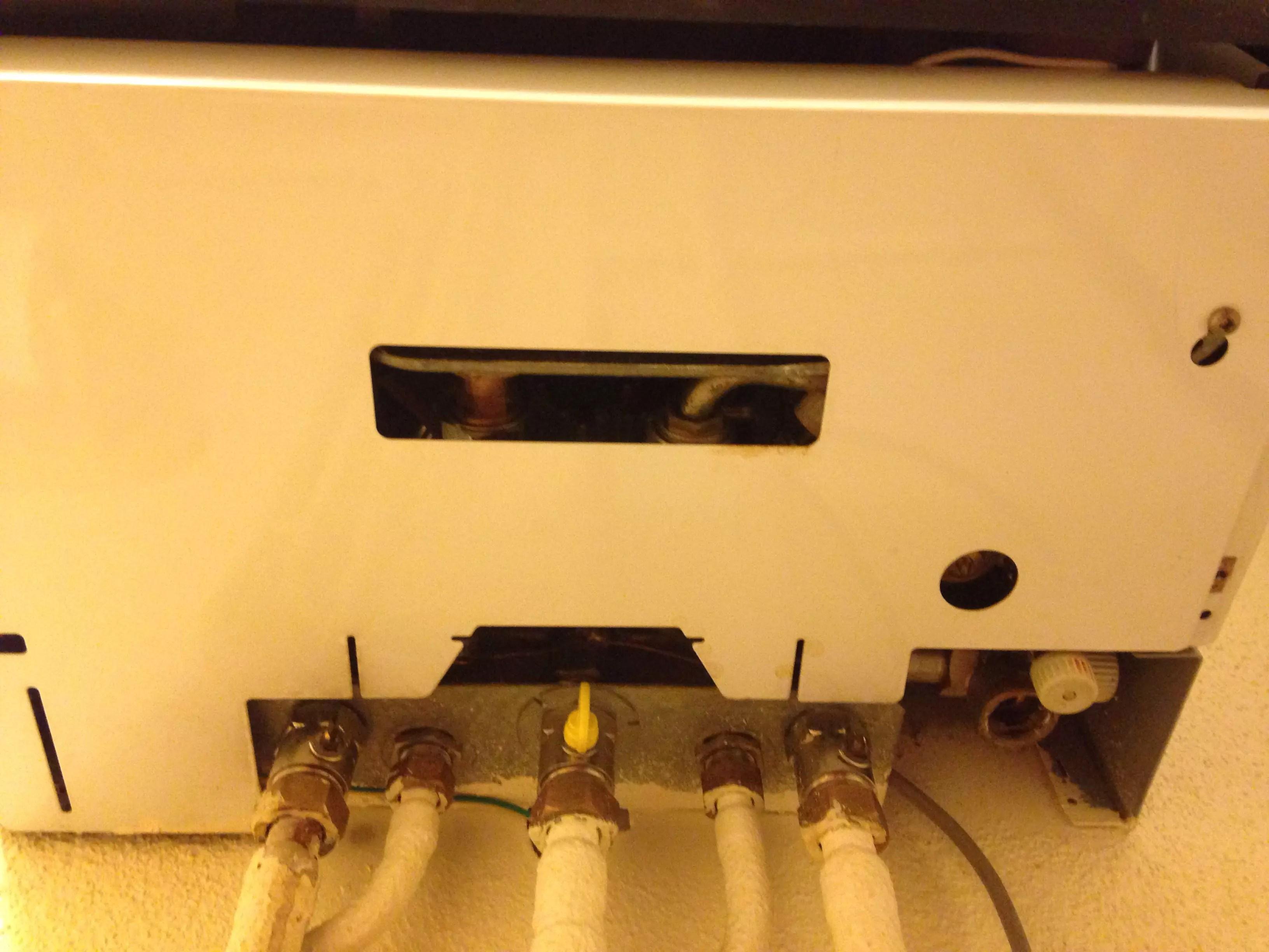 pression 0 bar chaudiere a gaz