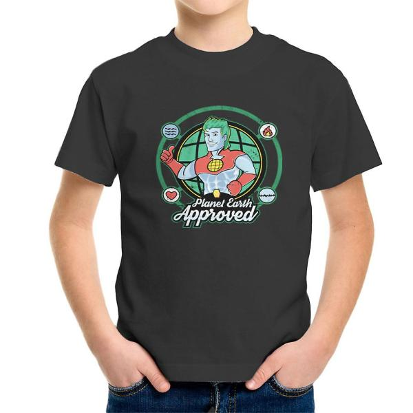 Captain Planet Earth Approved Kid' T-shirt Fruugo
