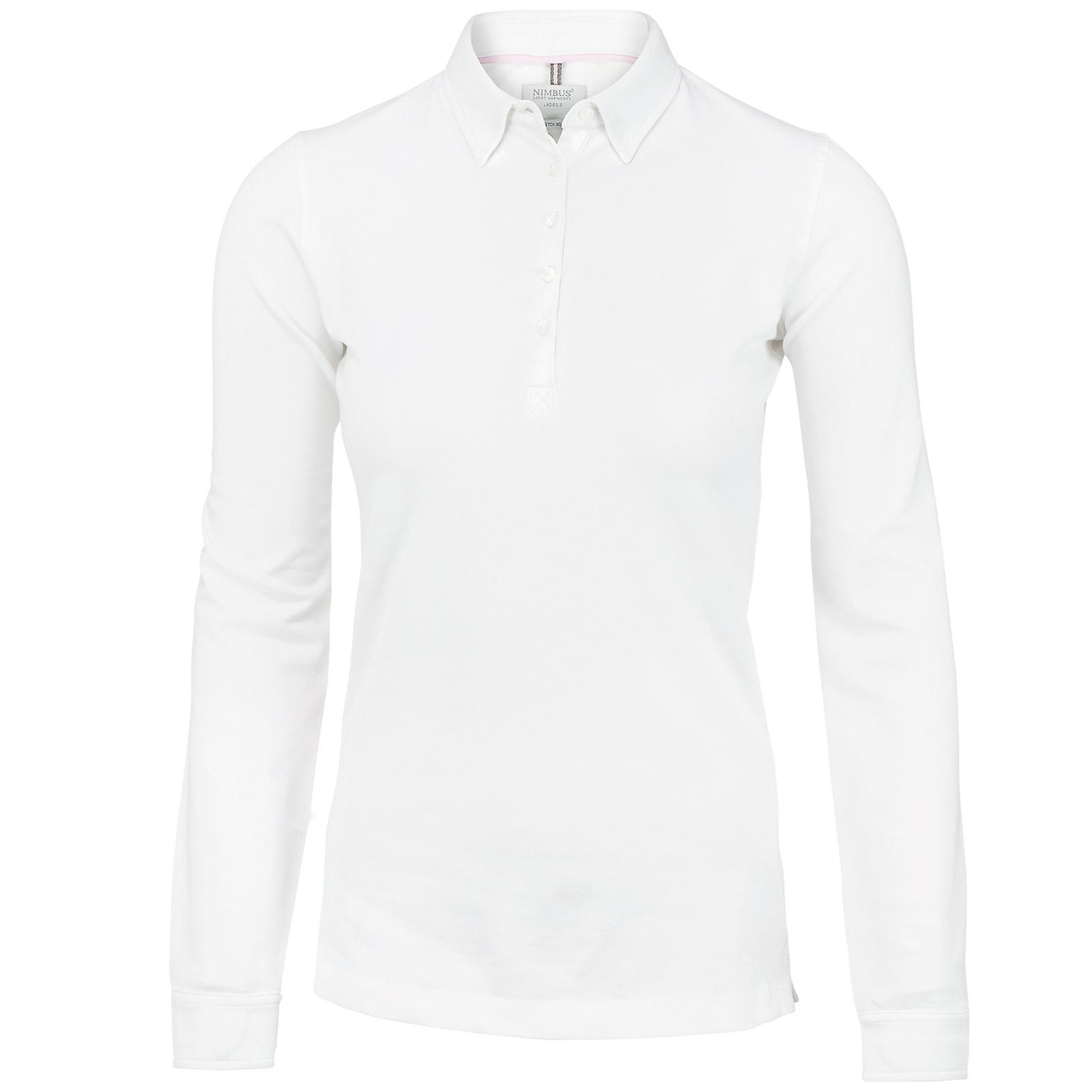 Nimbus Womens/Ladies Carlington Deluxe Long Sleeve Polo