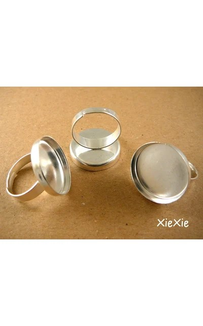 12Stk Ringrohlinge 20mm Fassung  XieXie