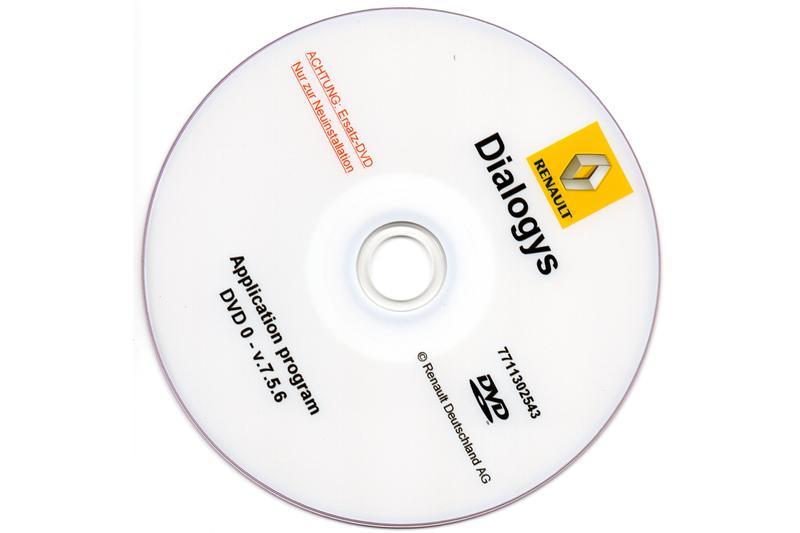 Dialogys 7.5.6 Datenstand 4.42 für Renault/Dacia seltene