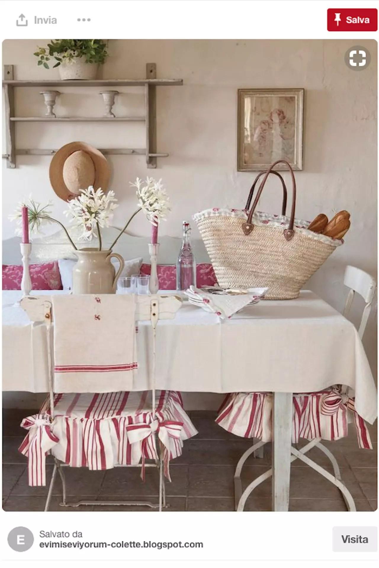 Tra gli accessori da giardino che non possono mancare nel tuo spazio verde personale, i cuscini per sedie da giardino sono quelli che meglio di tutti possono coniugare estetica e funzionalità. Cuscini Per Sedie Shabby Chic Spunti Da Pinterest Magazine Delle Donne