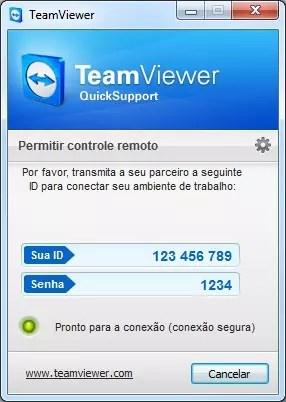 Baixar a última versão do TeamViewer QuickSupport grátis em Português no CCM