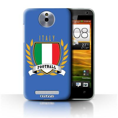 STUFF4 Case/Cover for HTC E1/603E/Italy/Italian/Football ...