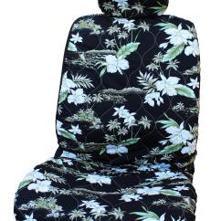 Hawaiian Chair Covers Club Slip Side Airbag Optional Orchid Car Seat