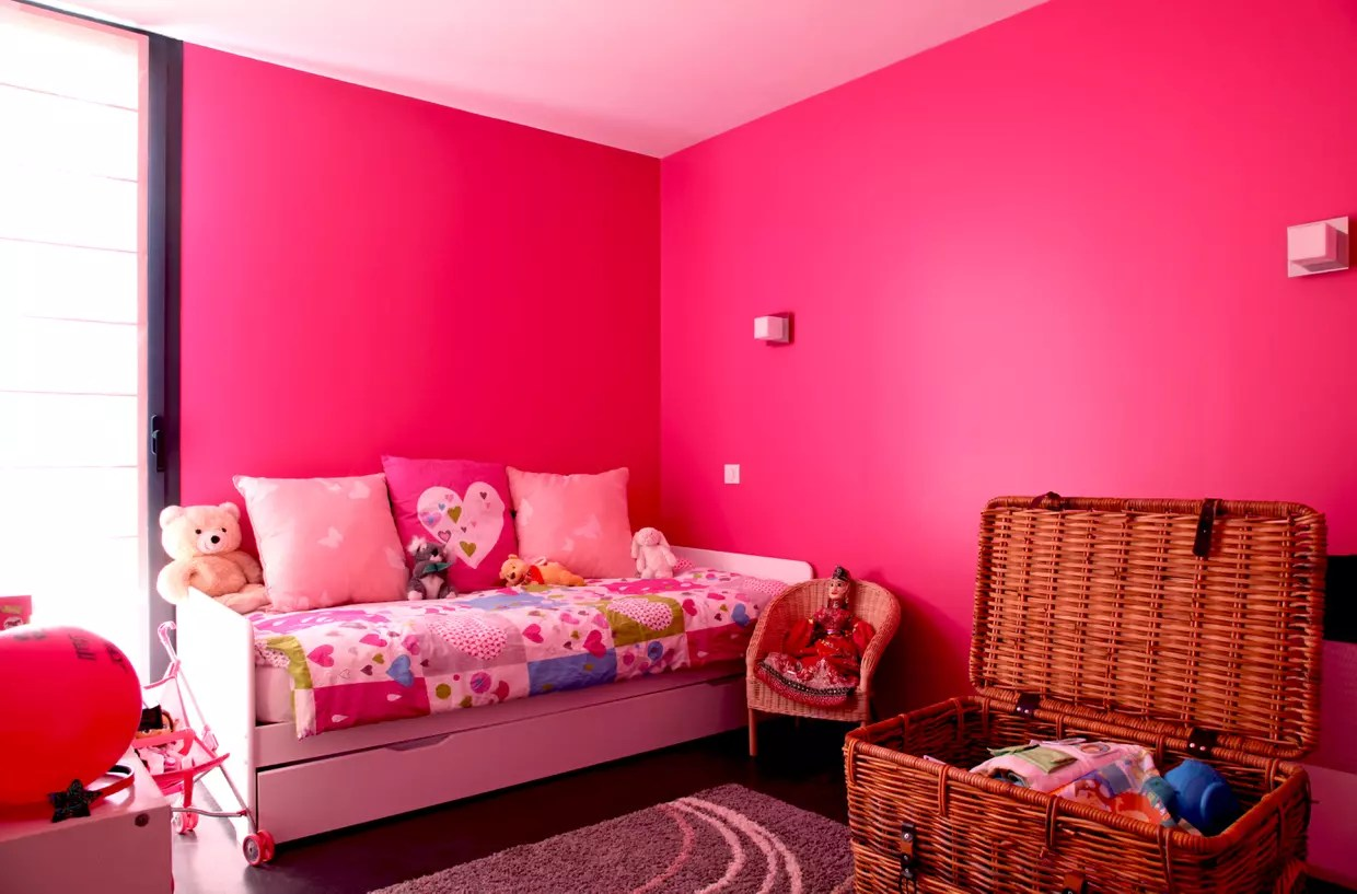 Chambre Rose Fluo