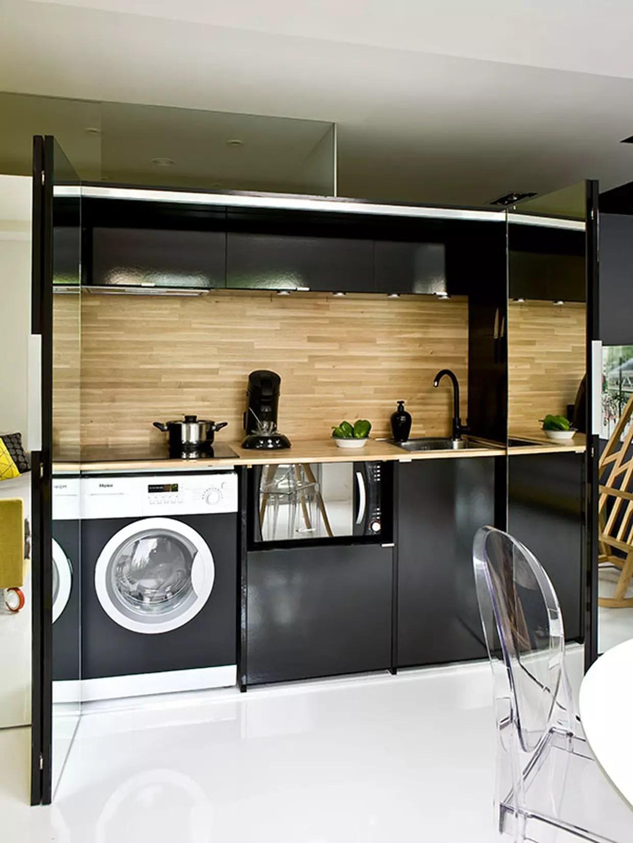 Une cuisine invisible