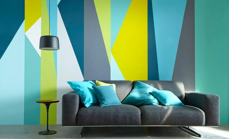 Peintures Bleu Riviera et Carabes par Castorama