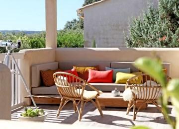 Salon De Jardin Pour Terrasse Appartement   Idees Decoration Balcon ...