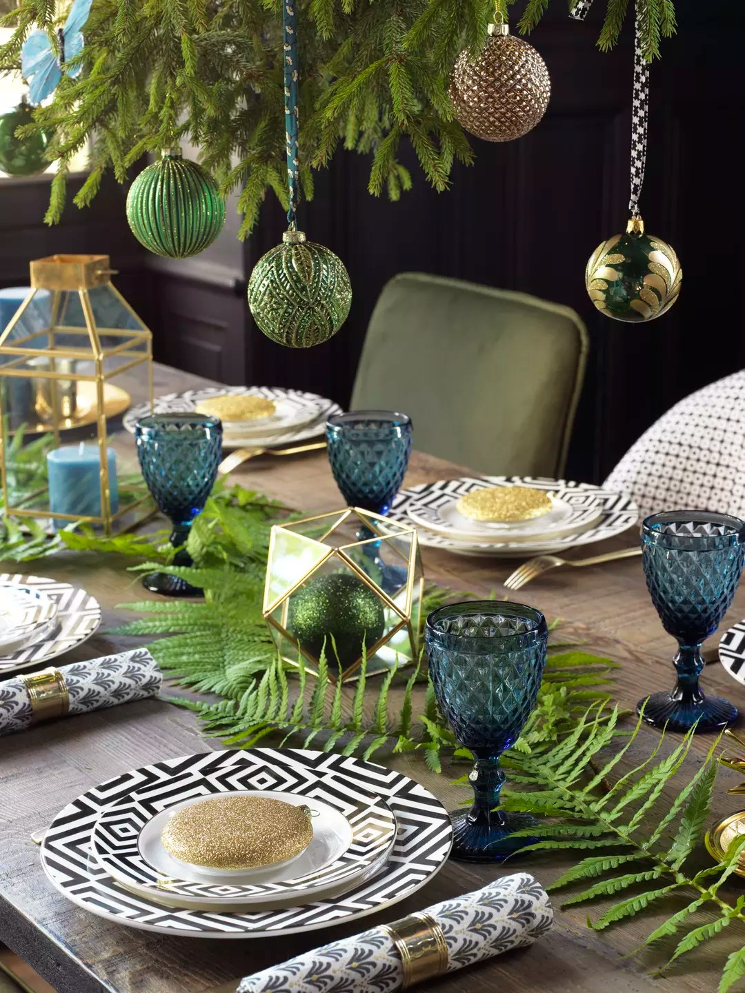 Decoration Jardin Fetes Decoration De Table Pour Noel 2018