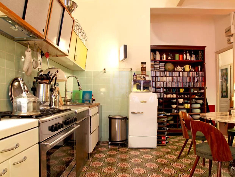 Une cuisine annes 1950