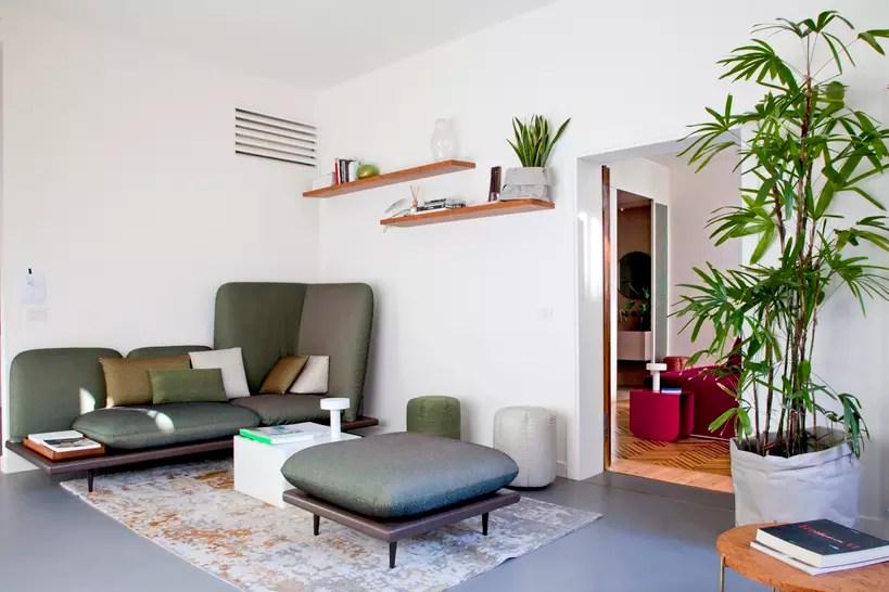 Salon moderne  des ides dco  la pointe du design