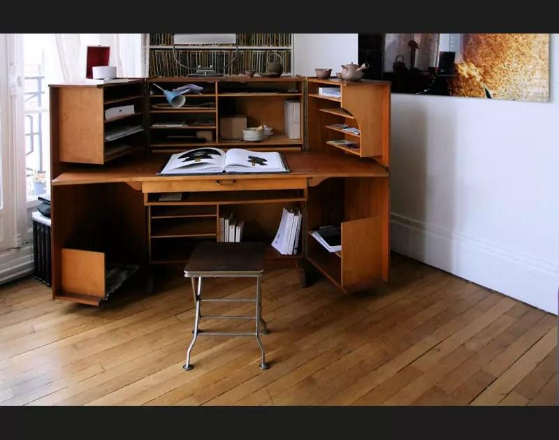 bureau d angle en bois