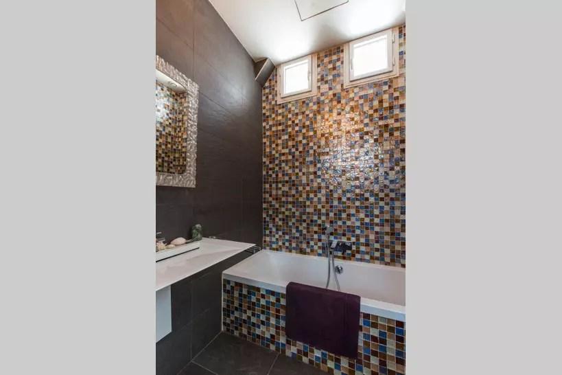 salle de bains en mosaique 25 ambiances pour carreler sa piece d eau