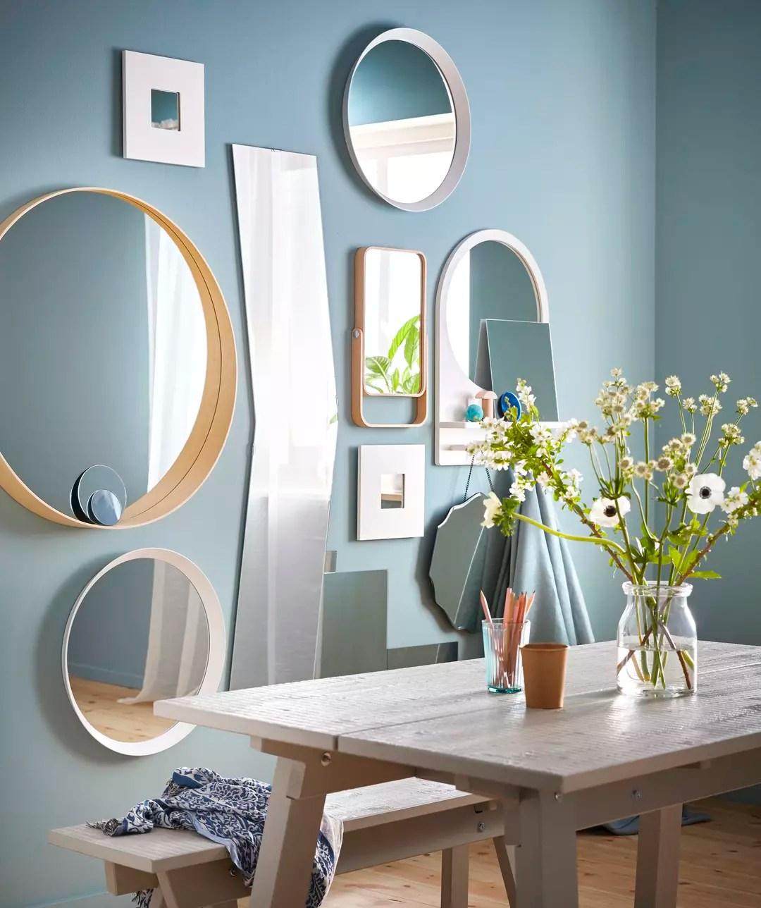 Comment Et Ou Placer Un Miroir Dans Une Piece