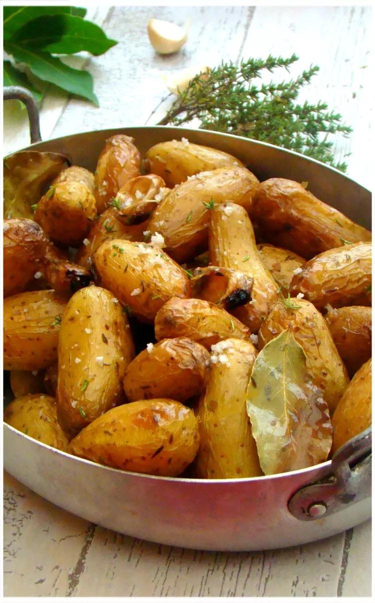 Pomme Grenaille Au Four : pomme, grenaille, Recette, Pommes, Terre, Grenailles, Herbes, Aromatiques, Guérande