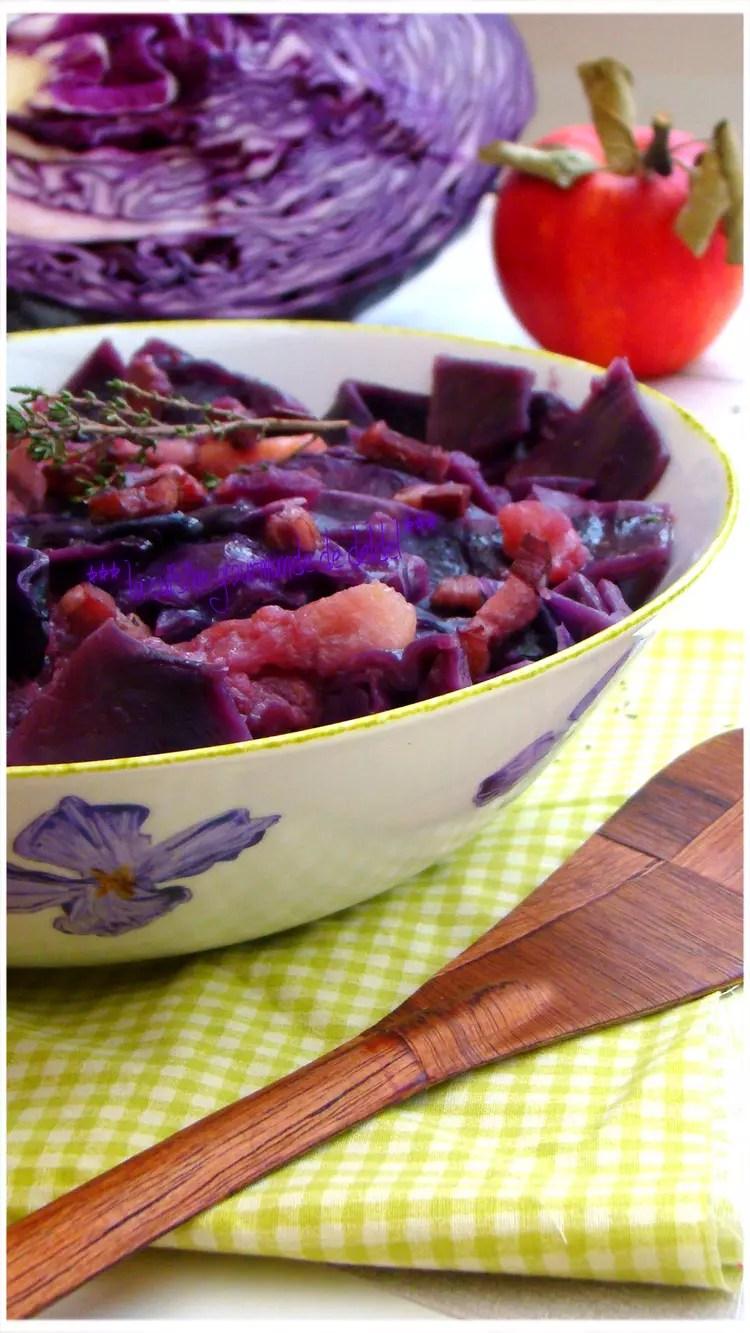 Recette Chou Rouge Lardons Pommes De Terre : recette, rouge, lardons, pommes, terre, Rouge, Pommes, Lardons, Fumés