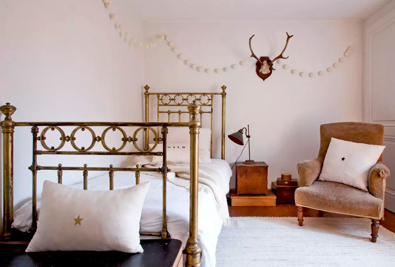 une chambre vintage cosy a souhait