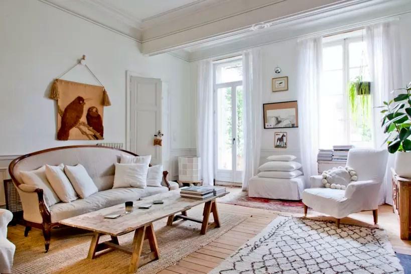 Salon blanc  les plus beaux exemples pour un intrieur lumineux