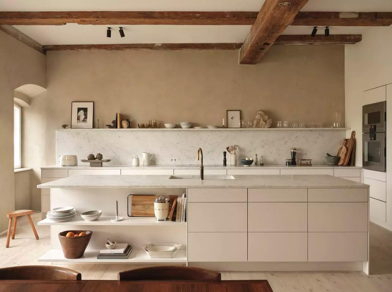 une cuisine beige desirable