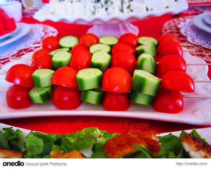Domates- Salatalık