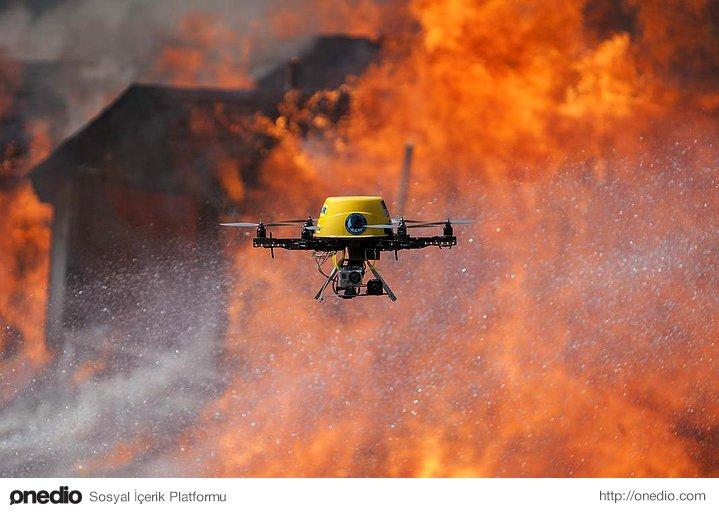 Kızılötesi drone izleme sistemleri sayesinde orman yangınları %5 oranında azaltılacak.