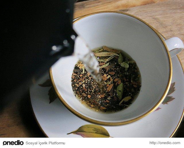 Karabiber çayı