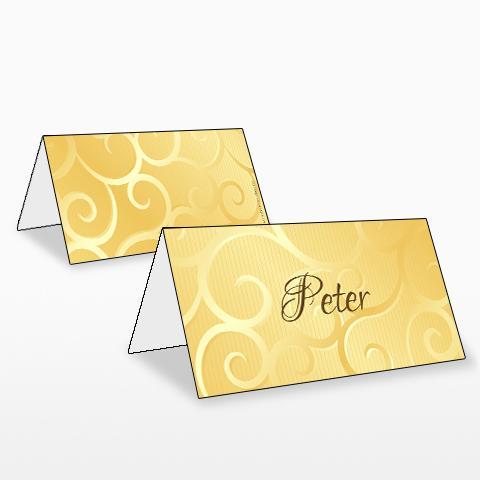 Goldene Hochzeit  TischkartenShop