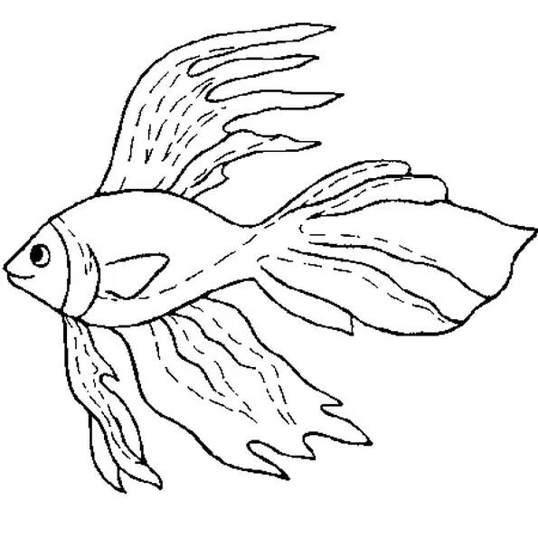 Coloriage poisson d'avril 5 en Ligne Gratuit à imprimer