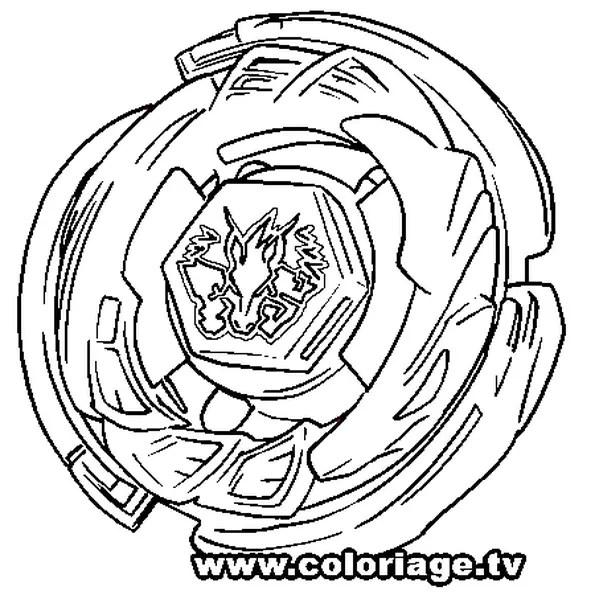 Coloriage Beyblade Pegasus en Ligne Gratuit à imprimer