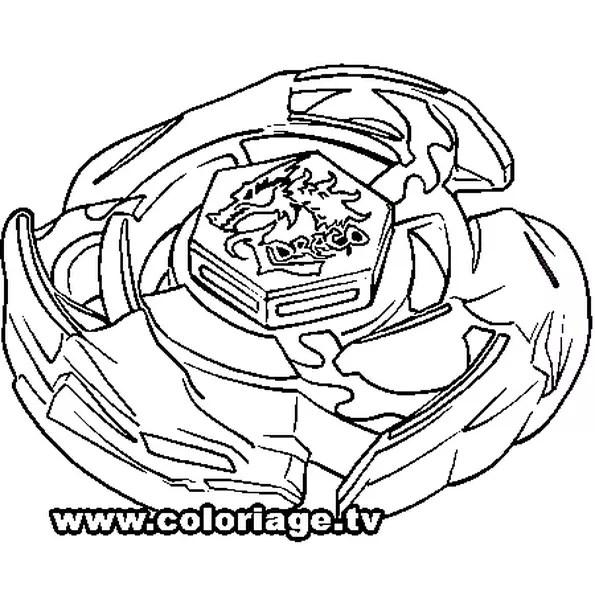 Coloriage Beyblade El Drago En Ligne Gratuit Imprimer