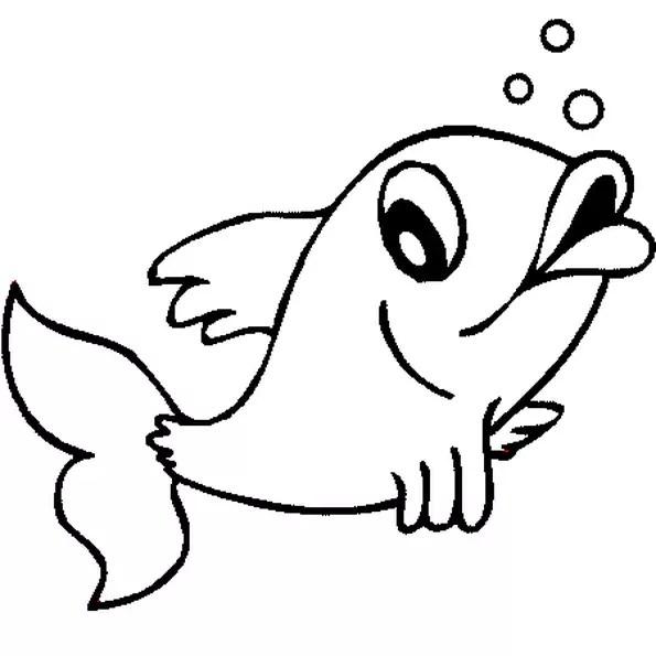 Coloriage poisson d'avril 2 en Ligne Gratuit à imprimer