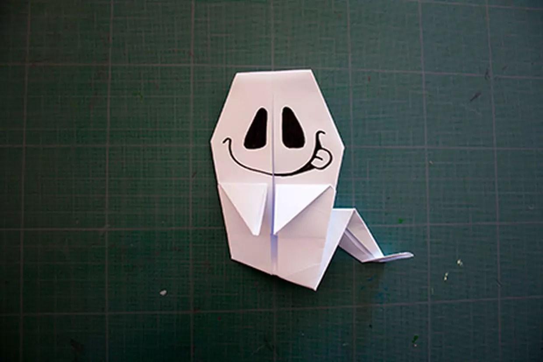 Comment Faire Un Fantome En Papier Awesome Img With
