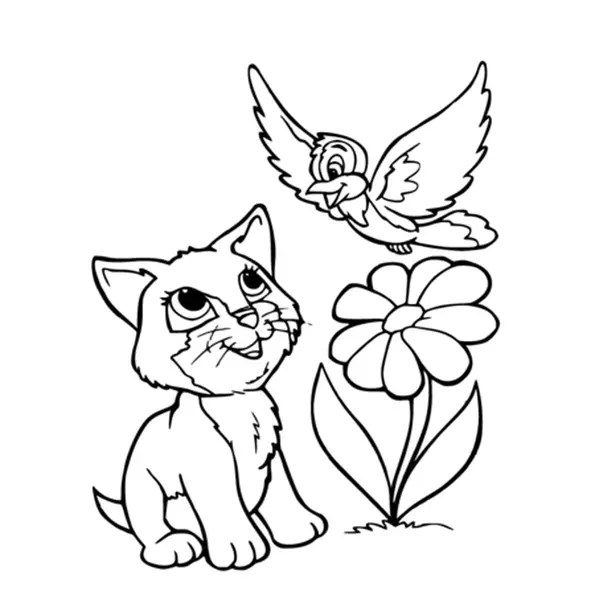 Coloriage Des Chatons Coloriages Chaton