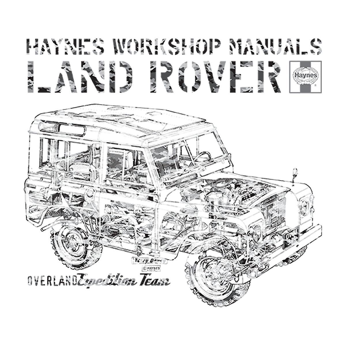 Haynes Workshop Manual Land Rover Camo Black Men's