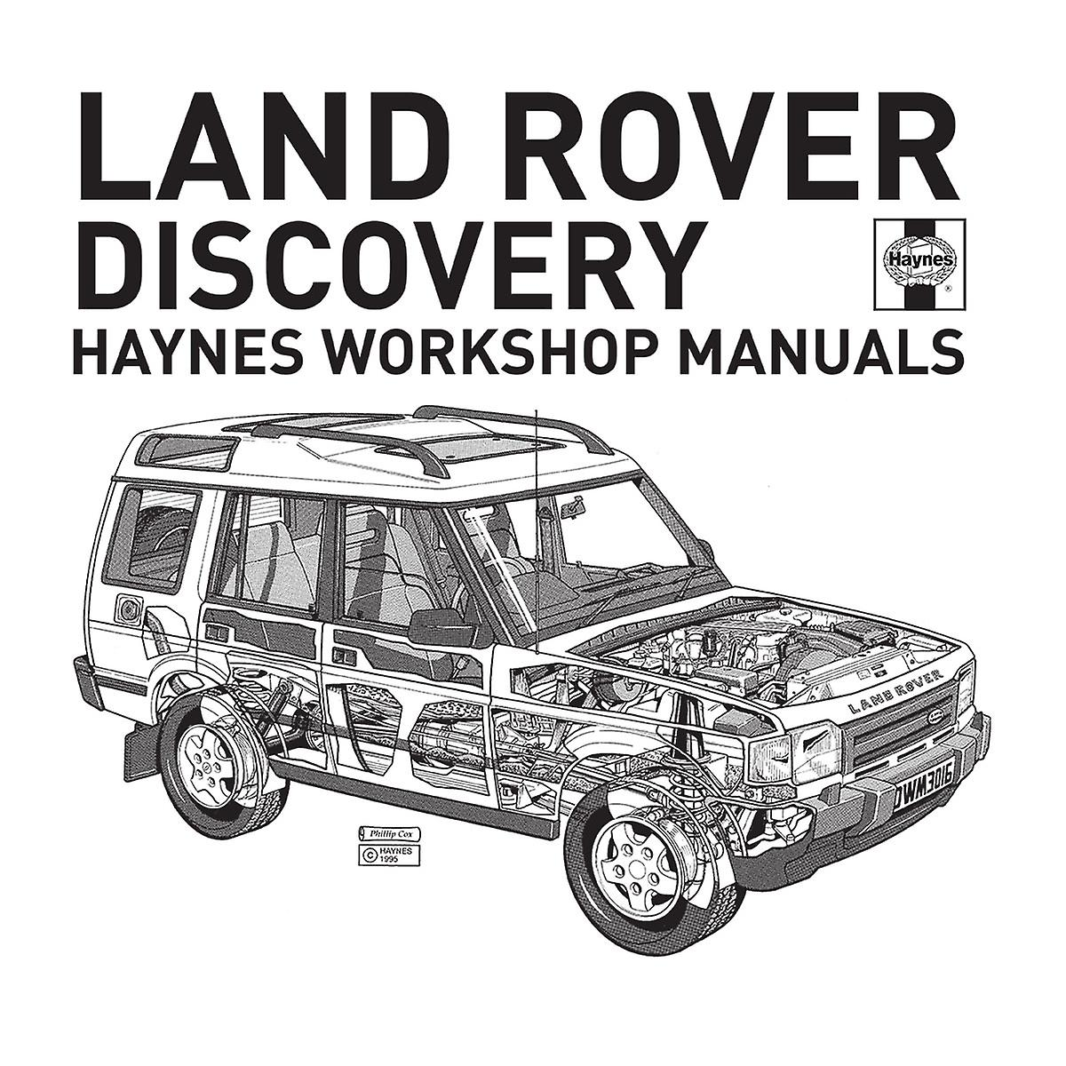 Haynes Workshop Manual 3016 Land Rover Discovery Black