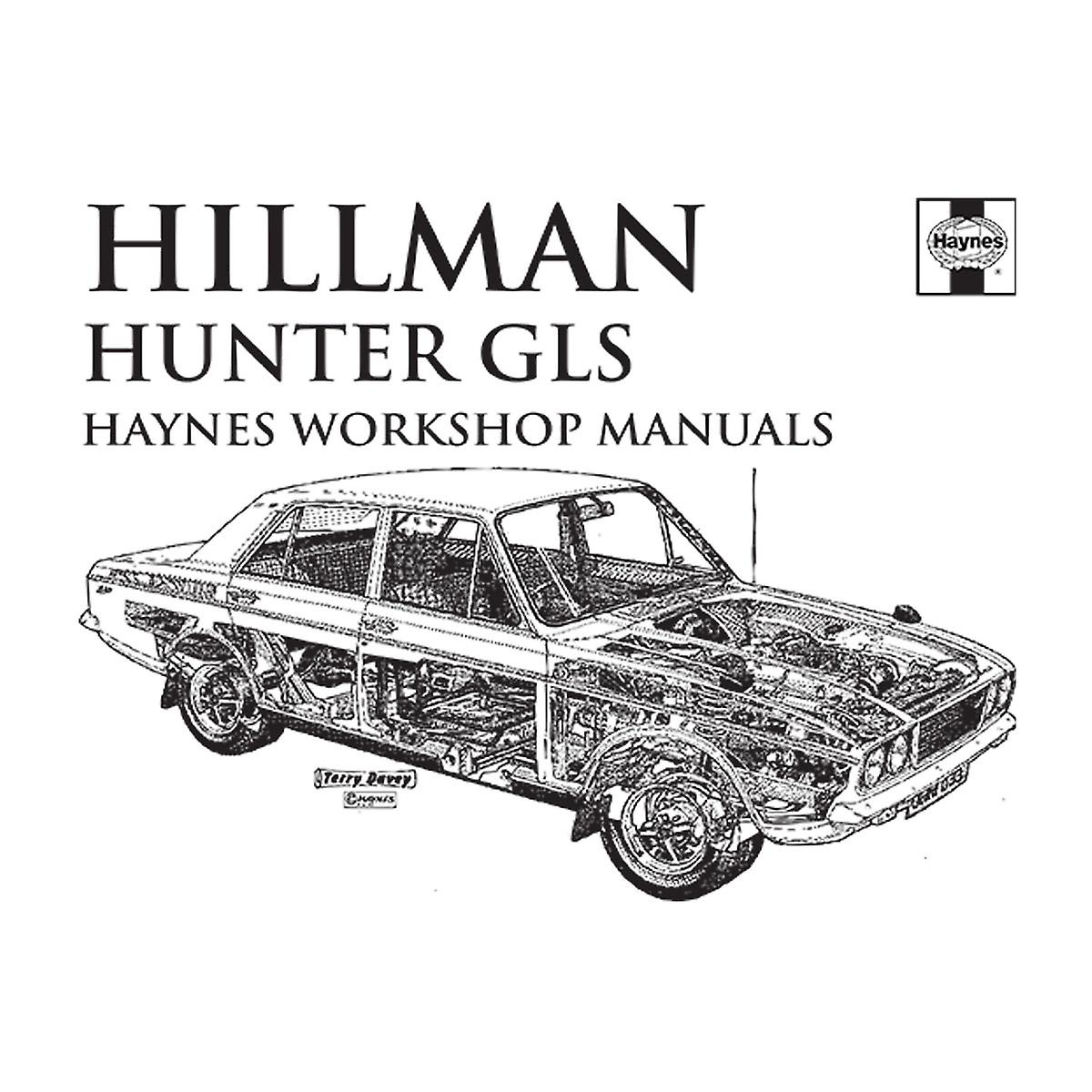 Haynes Workshop Manual 0033 Hillman Hunter GLS Black Men's