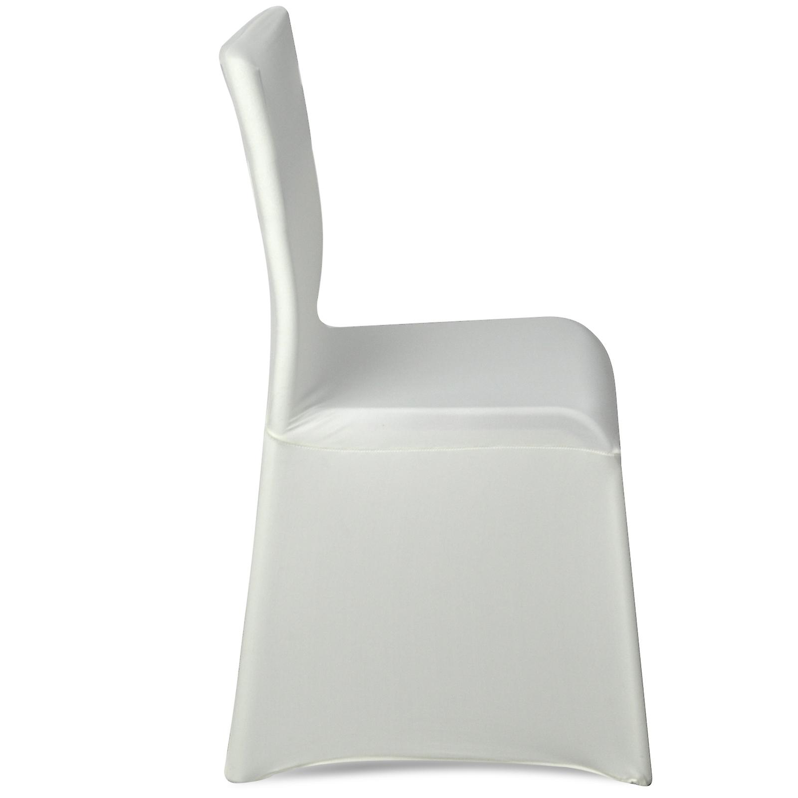 lycra chair covers nz flip up chairs trixes ivory cover for wedding reception