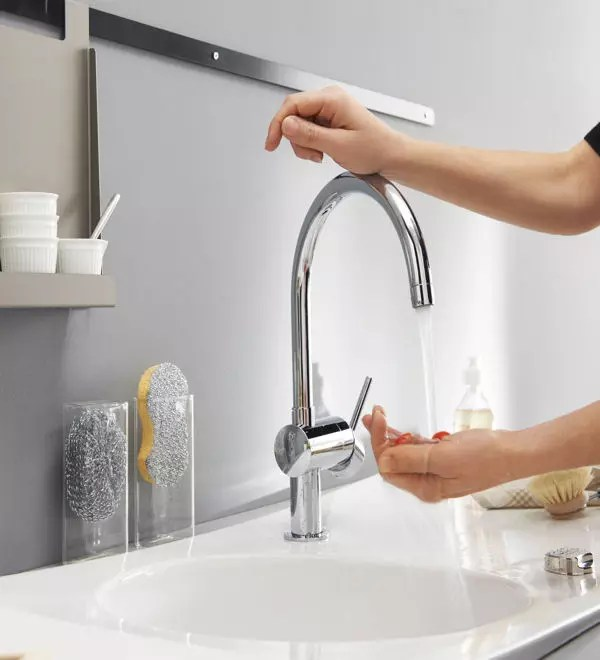 un robinet facile a manipuler