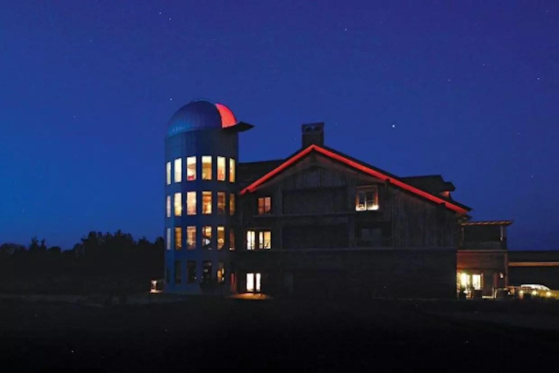 Cour D Astronomie Au Sommet De La Montagne
