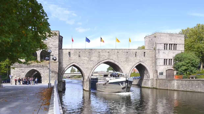 Le pont des Trous  Tournai