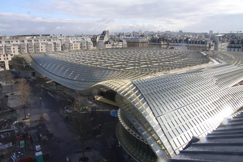 Halles De Paris  Découvrez L'immense Canopée En Images